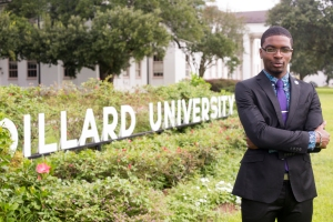 A photo of Dakarai Moton for his response to Why dress and appearance matter at black colleges, an op-ed in on The Conversation by Melissa E. Wooten.